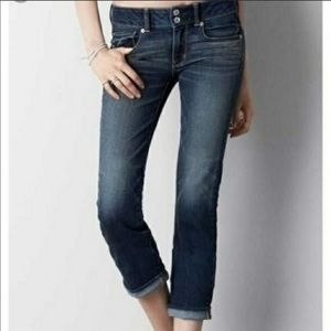 3/$20 AE Artist Cropped Super Stretch Cuff Jean